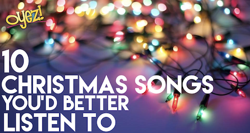 10 chriastmas songs